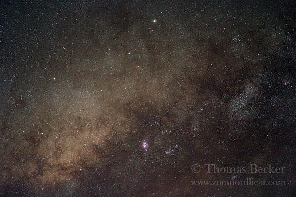 Milchstraßenregion im Sternbild Schütze - A12