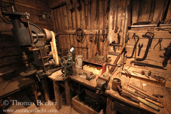 Im Lofotenmuseum in Kabelvag.