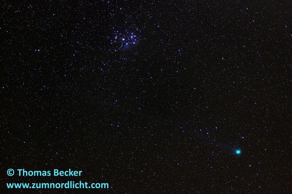 Komet Lovejoy C/2014 Q2 bei den Plejaden - A62