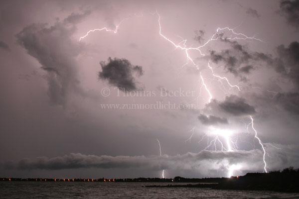 Blitzeinschlag in Darwin, Australien - G19