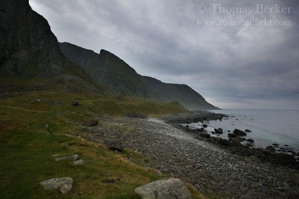 An der Küste von Eggum.