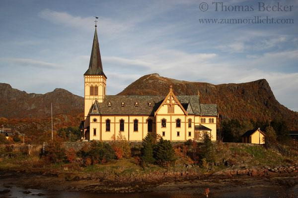 Die Kirche in Kabelvag.