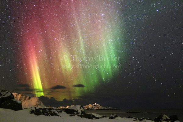 Farbiges Nordlicht - N30