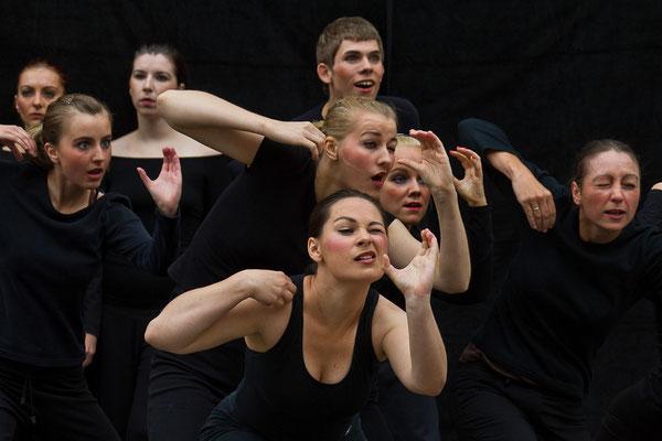 Polen - Theaterstudenten bei einer genialen Aufführung in Gdansk