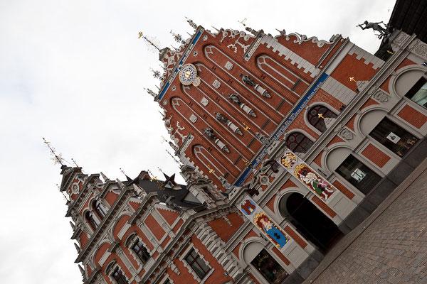 Lettland - Eindrücke aus Riga - house of blackheads (Schwarzhäupterhaus)