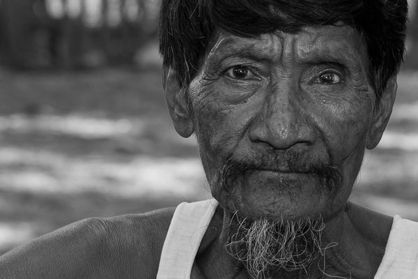 Myanmar people - alter Mann