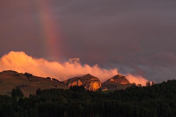 GAIS - Kasten und Kamor mit Regenbogen