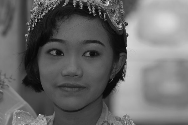 Myanmar people - junge Frau