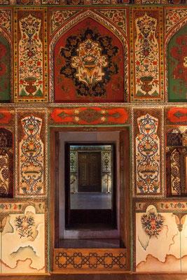 Azerbaijan / Sheki - Im Innern des Khan-Palastes in Sheki