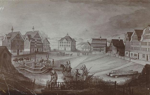 GAIS - Dorfplatz 1936