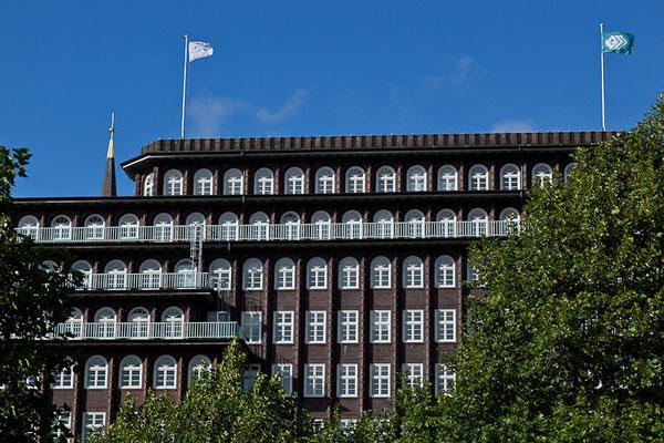 Hamburg - Das 1924 fertig gestellte Chile-Haus des Hamburger Kaufmanns Henry Brarens Sloman