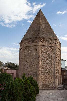 Azerbaijan / Aserbaidschan - Yusif Ibn Kuseir Grabmal in der autonomen Republik Nakhchivan