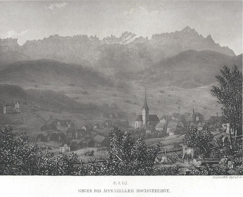 GAIS - Dorfbild