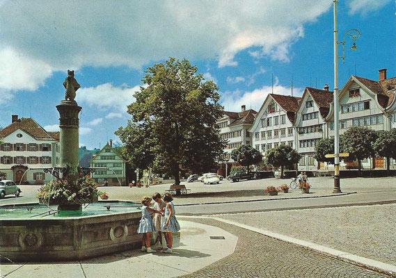 GAIS -Dorfplatz 1973
