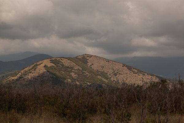 Azerbaijan - Auf der Fahrt von Sheki nach Lahij