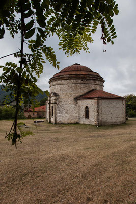 Azerbaijan - Round Tempel in Sheki