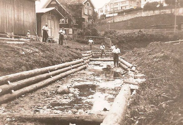 GAIS - Bachverbauungen - Dorf