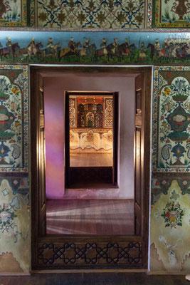 Azerbaijan - Im Innern des Khan-Palastes in Sheki