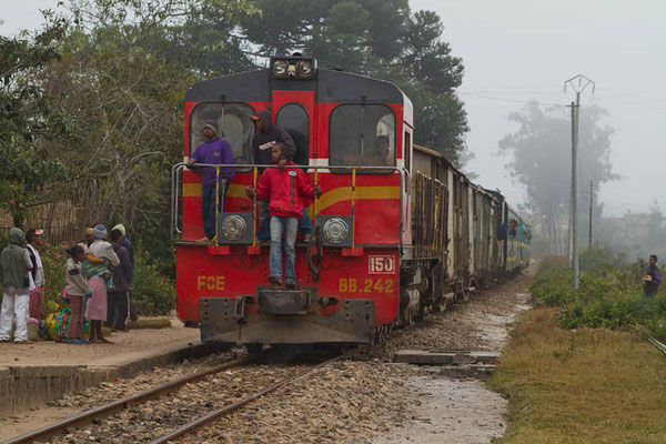Madagaskar: Im Zug zwischen Fianarantsoa und Manakara
