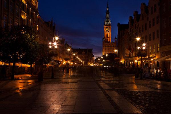 Polen - Gdansk bei Nacht