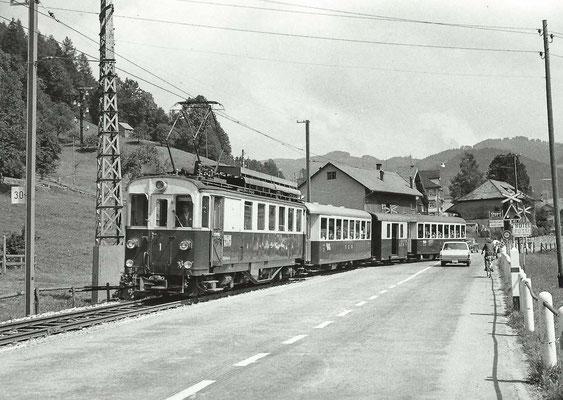 GAIS - SGA im Bühler in Fahrtrichtung Teufen/St. Gallen 1967