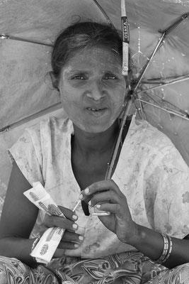 Myanmar people - Verkäuferin