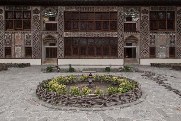 Azerbaijan / Sheki - Der Ende des 18. Jahrhunderts im osmanischen Stil erbaute Khan-Palast