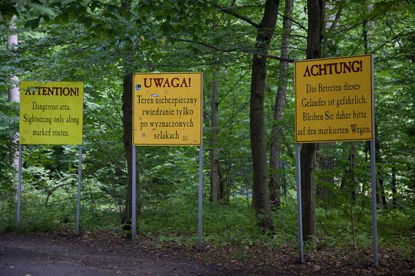 Polen - Wolfsschanze bei Görlitz