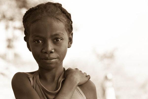 Mädchen in Madagaskar