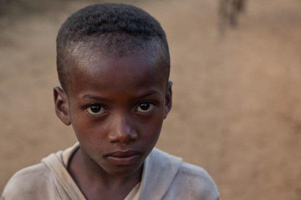 Junge in Madagaskar