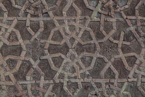 Azerbaijan / Aserbaidschan - Detail an der Fassade des Yusif Ibn Kuseir Grabmals in der autonomen Republik Nakhchivan