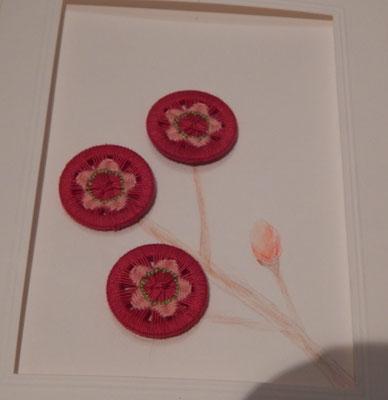 """Grusskarte """"Kirschblüte"""""""
