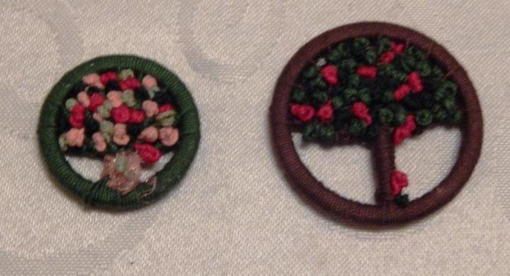 Blumengruss und Bäumchen
