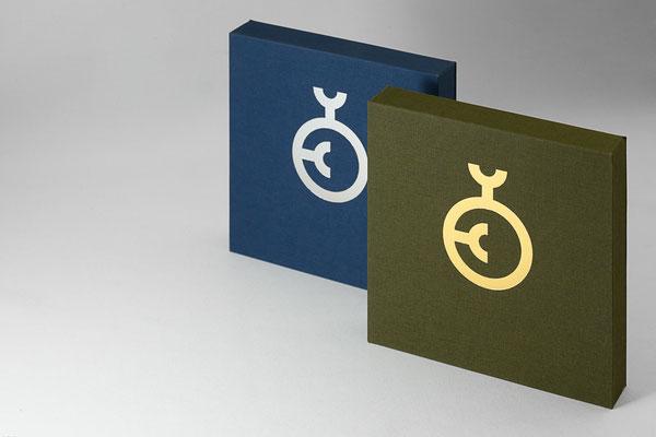 Medaillenkästen für den Rat für Formgebung