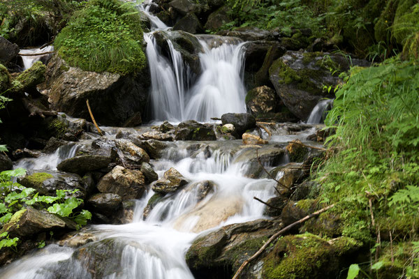 Bach oberhalb von Schalders