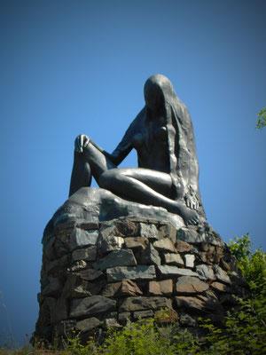 Loreley-Figur, Sankt Goarshausen.