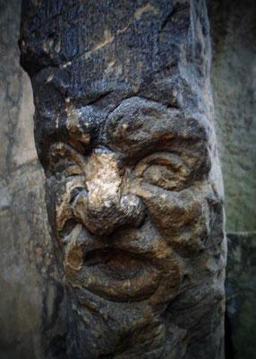 Gesicht in den Externsteinen, Horn-Bad Meinberg.