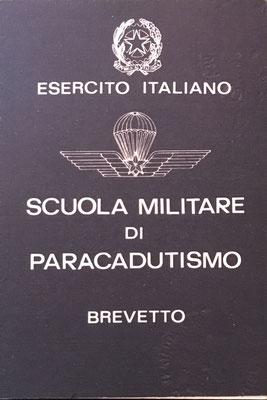 brevetto militare paracadutista massimiliano marsala
