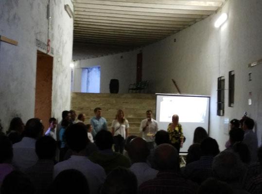 Jaime Ramos en la presentación