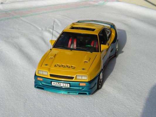Manta Manta Mattig Breitbau Modellauto 1:18