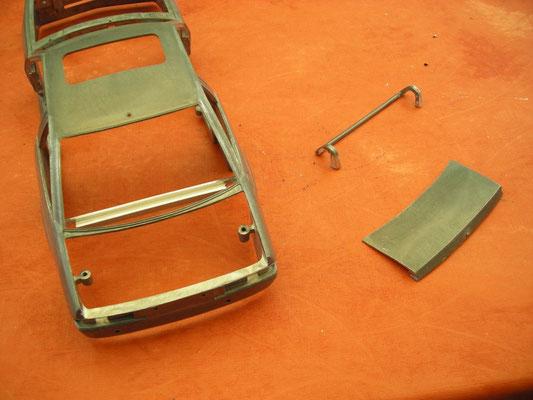 Öffnungsmechanismus Kofferraum gebastelt