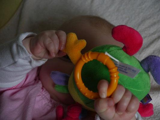 Die erste Spieluhr von den neuen Mamas...
