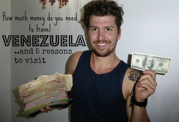 How much do you need to travel Venezuela