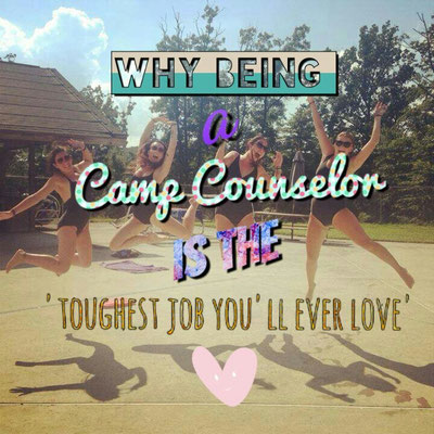become a camp counsellor