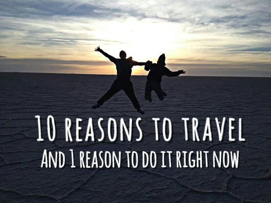 reasons to travel the world