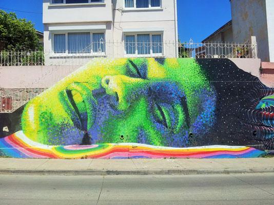 Chile Street art
