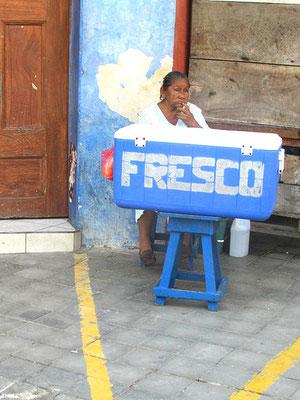 Street Seller, Grenada