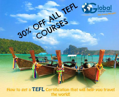 TEFL promo code