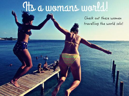 Women who travel solo