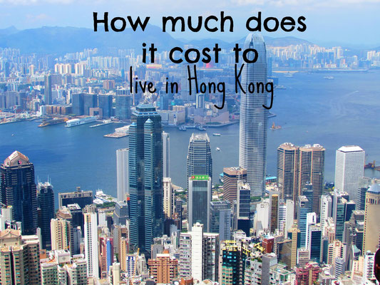 How much does it cost to live in Hong Kong